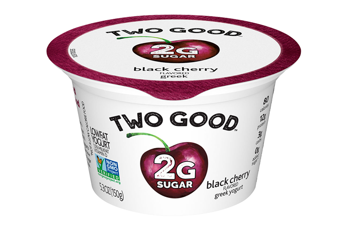 Black Cherry Two Good™ Greek Lowfat Yogurt with 2 Grams of Total Sugar