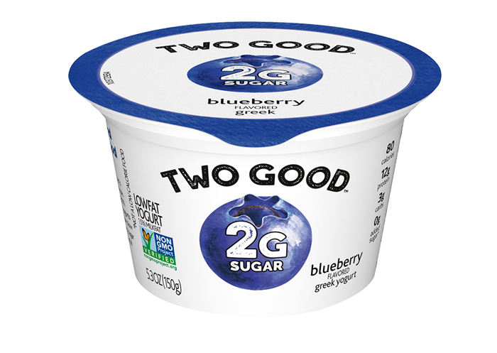Blueberry Two Good™ Greek Low Fat Yogurt with 2 Grams of Sugar