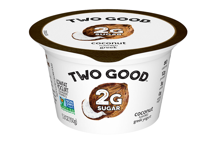 Coconut Two Good™ Greek Lowfat Yogurt with 2 Grams of Total Sugar