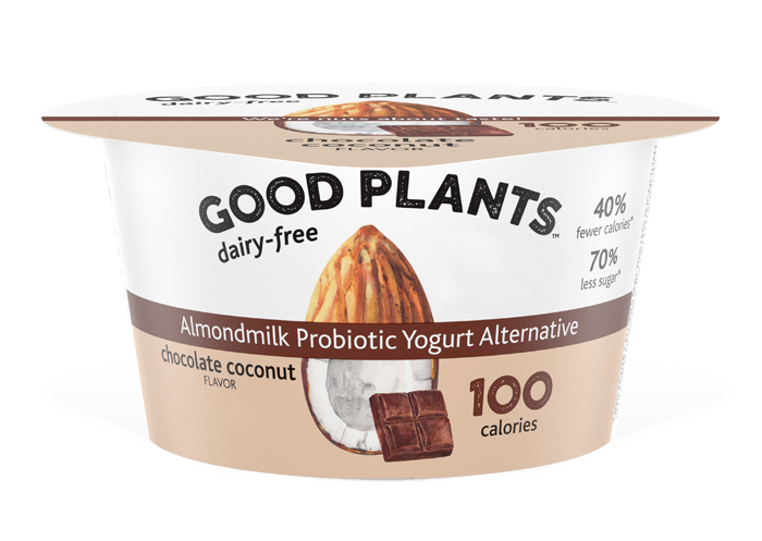 Chocolate Coconut Good Plants™Almondmlk Probtioic Yogurt Alternative