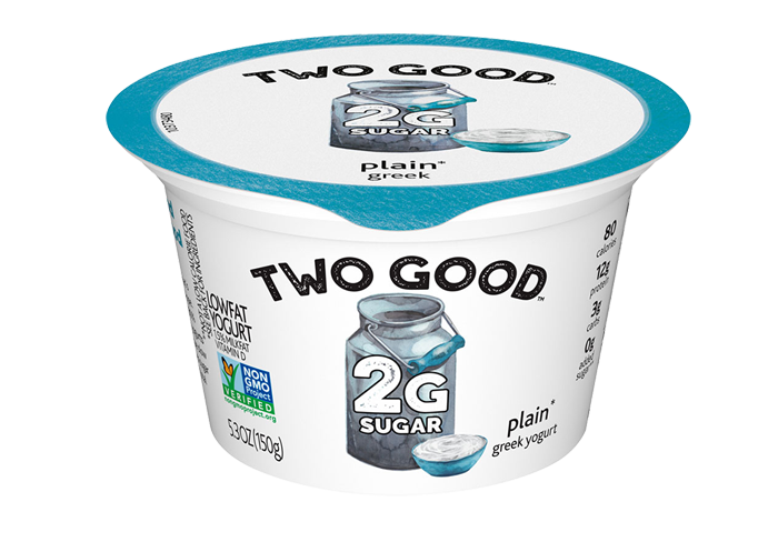 Plain Two Good™ Greek Lowfat Yogurt with 2 Grams of Total Sugar