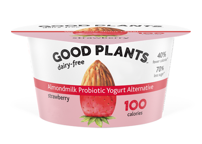 Strawberry Good Plants™Almondmlk Probtioic Yogurt Alternative