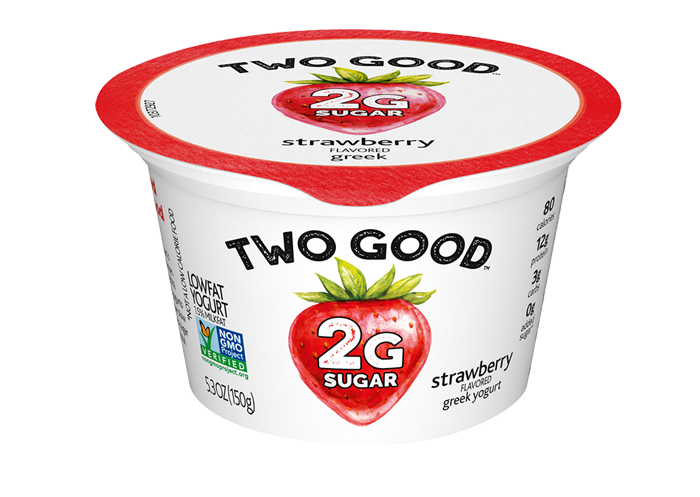 Strawberry Two Good™ Greek Low Fat Yogurt with 2 Grams of Sugar