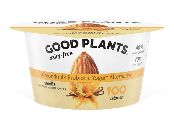 Vanilla Good Plants™Almondmlk Probtioic Yogurt Alternative
